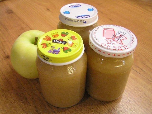 Как сделать пюре из яблок для грудничка блендером